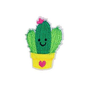Cactus Embroidered Patch