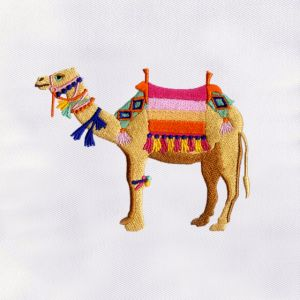 Camel Embroidery Designs
