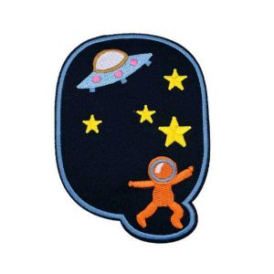 Astronaut Ufo Outer Space Patch