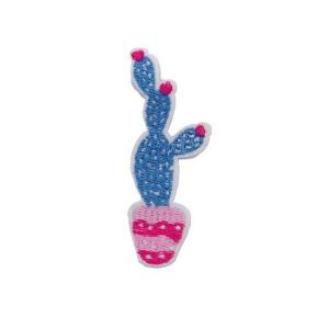 Embroidered Prickly Pear Patch Cactus Plant