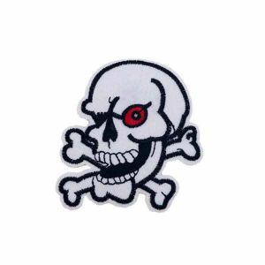 Skull With Red Eye Patch