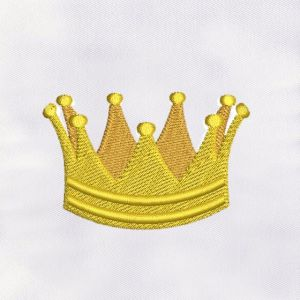 Crown Embroidery Designs