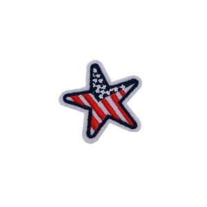 Iron on USA Star Patch