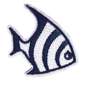 Embroidered Fish Patch