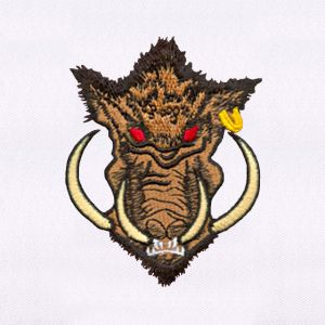 Boar Embroidery Designs