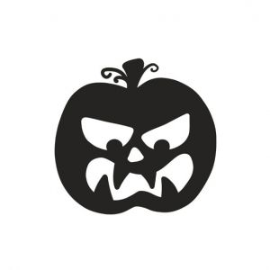 Pumpkin Stencil Art