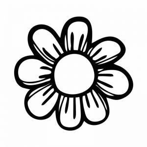Sunflower Stencil Art