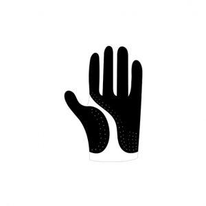 Gloves Stencil Art