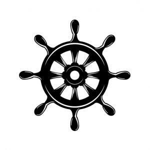 Ship Stencil Art