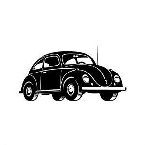 Car Stencil Art