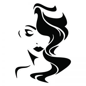 Women Stencil Art