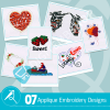 Applique Embroidery Collection