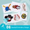 Baseball Embroidery Bundle