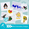 Bird Embroidery Collection