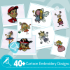 Cartoon Embroidery Collection