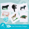 Cow Embroidery Bundle