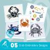 Crab Embroidery Bundle