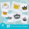 Crown Embroidery Collection