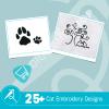 Cat Embroidery Bundle