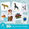 Dog Embroidery Bundle