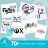 Font Embroidery Collection
