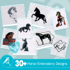 Horse Embroidery Bundle