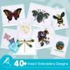 Insect Embroidery Collection