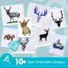 Deer Embroidery Bundle