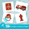 Firefighter Embroidery Collection