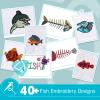 Fish Embroidery Bundle