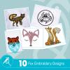 Fox Embroidery Bundle