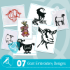 Goat Embroidery Bundle