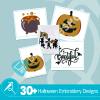 Halloween Embroidery Bundle