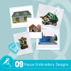 House Embroidery Collection
