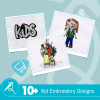 Kid Embroidery Collection