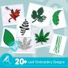 Leaf Embroidery Bundle