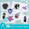 Monster Embroidery Collection