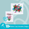 Mother's Day Embroidery Bundle