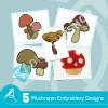 Mushroom Embroidery Bundle