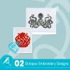 Octopus Embroidery Bundle