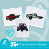 Truck Embroidery Bundle
