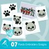 Panda Embroidery Bundle