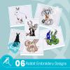 Rabbit Embroidery Bundle