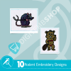 Rodent Embroidery Bundle