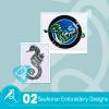 Seahorse Embroidery Bundle
