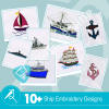 Ship Embroidery Bundle