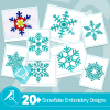 Snowflake Embroidery Collection