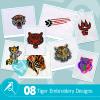 Tiger Embroidery Bundle
