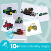 Tractor Embroidery Bundle