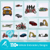 Vehicle Embroidery Collection